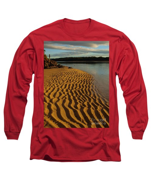 Long Sleeve T-Shirt featuring the photograph Ripples To The Edge by Trena Mara