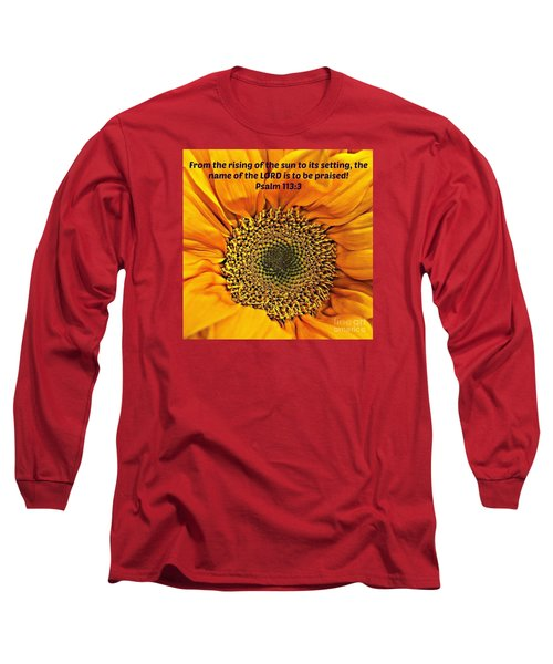 Rising Of The Sun Long Sleeve T-Shirt