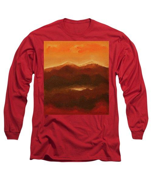 River Mountain View Long Sleeve T-Shirt
