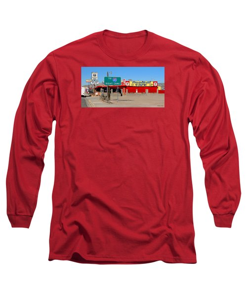 Roadkill Cafe, Route 66, Seligman Arizona Long Sleeve T-Shirt