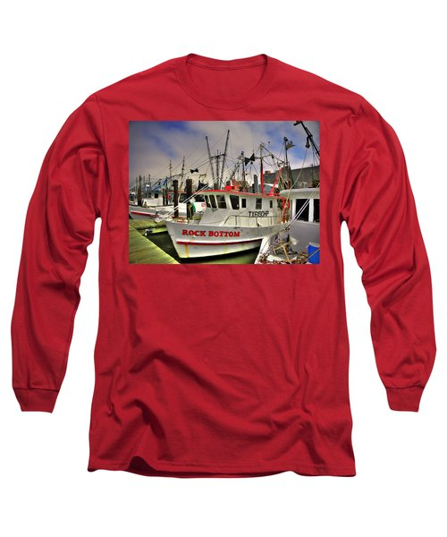 Long Sleeve T-Shirt featuring the photograph Rock Bottom by Savannah Gibbs