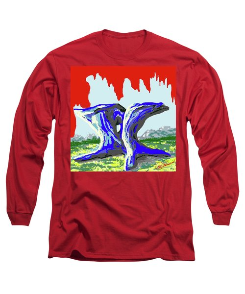 Rock Formations Long Sleeve T-Shirt