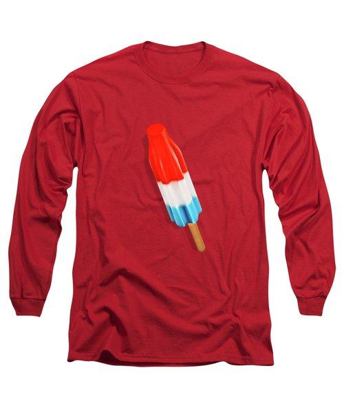 Rocket Pop Pattern Long Sleeve T-Shirt