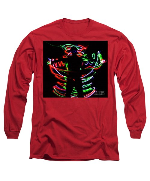 Long Sleeve T-Shirt featuring the photograph Rockin' In The Dead Of Night by Xn Tyler