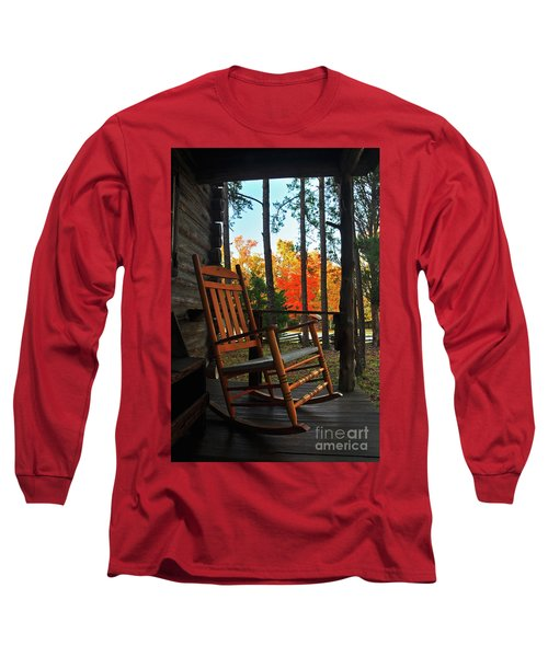 Rocking In Fall Long Sleeve T-Shirt