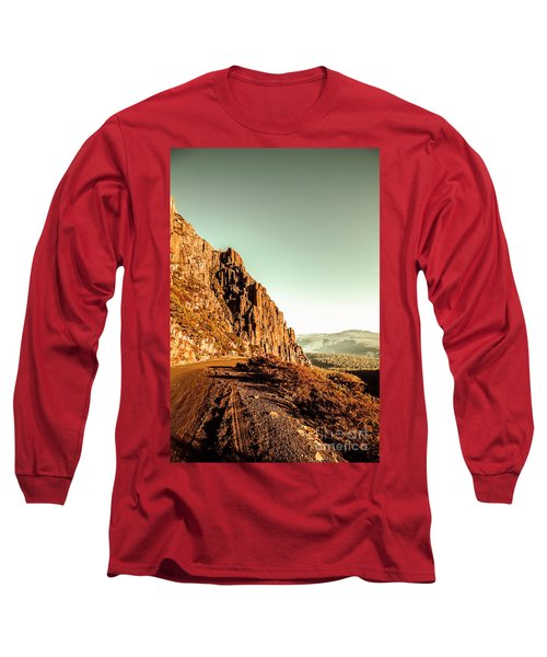 Rocky Mountain Route Long Sleeve T-Shirt