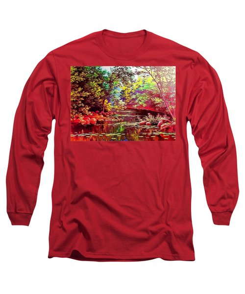 Rocky Rainbow River Long Sleeve T-Shirt