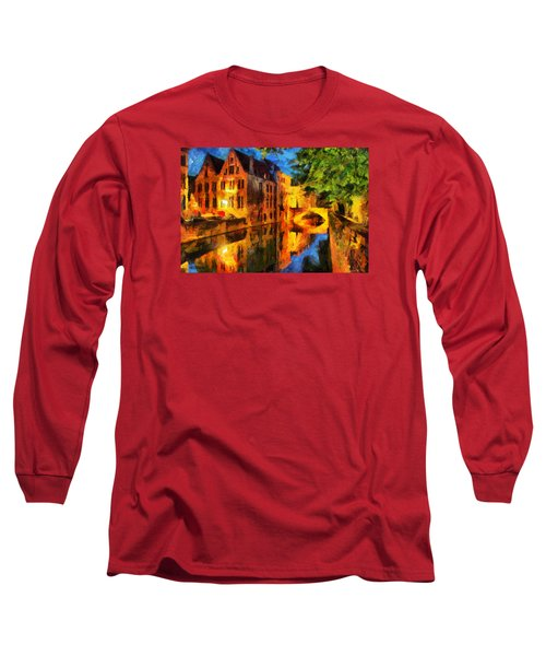 Romantique Long Sleeve T-Shirt by Greg Collins