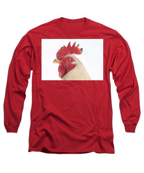 Rooster Named Spot Long Sleeve T-Shirt