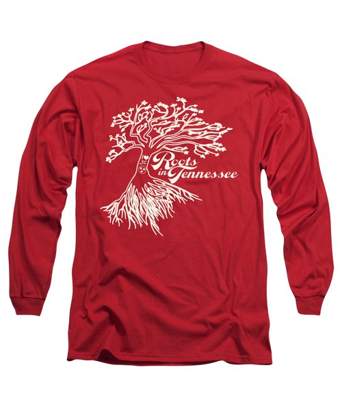 Roots In Tennessee Long Sleeve T-Shirt by Heather Applegate