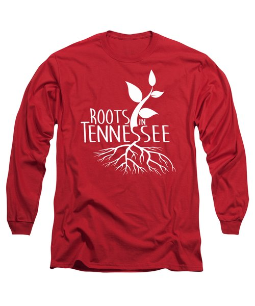 Roots In Tennessee Seedlin Long Sleeve T-Shirt by Heather Applegate