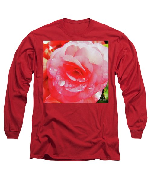 Rose After The Rain Long Sleeve T-Shirt