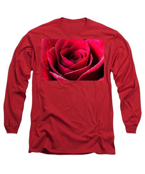Rose After The Rain Long Sleeve T-Shirt