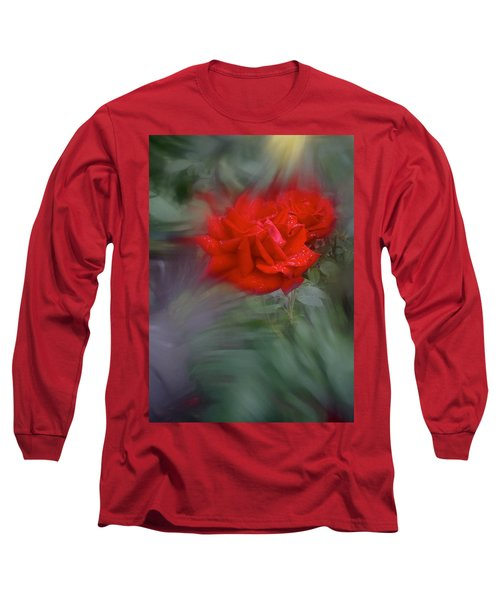Long Sleeve T-Shirt featuring the photograph Rose Aug 2016 by Richard Cummings