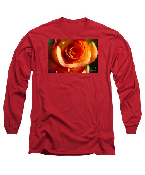 Long Sleeve T-Shirt featuring the photograph Rose Glow by Jeanette French