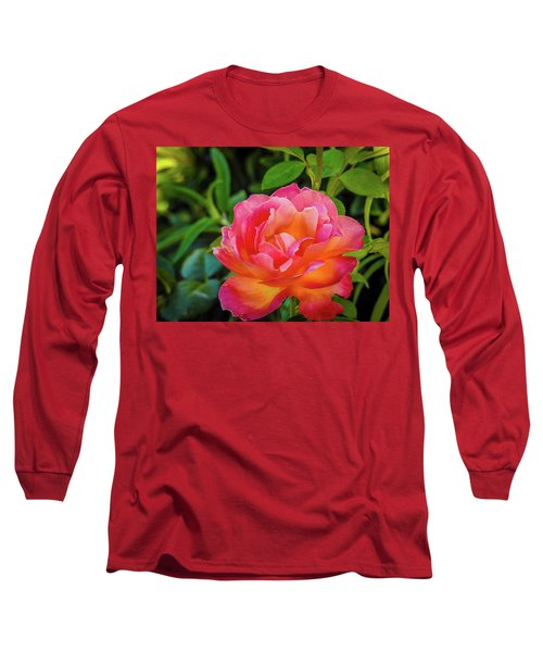 Rose In The Evening Long Sleeve T-Shirt