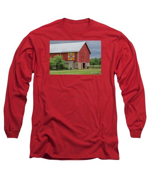 Rose Mosaic   3 Long Sleeve T-Shirt