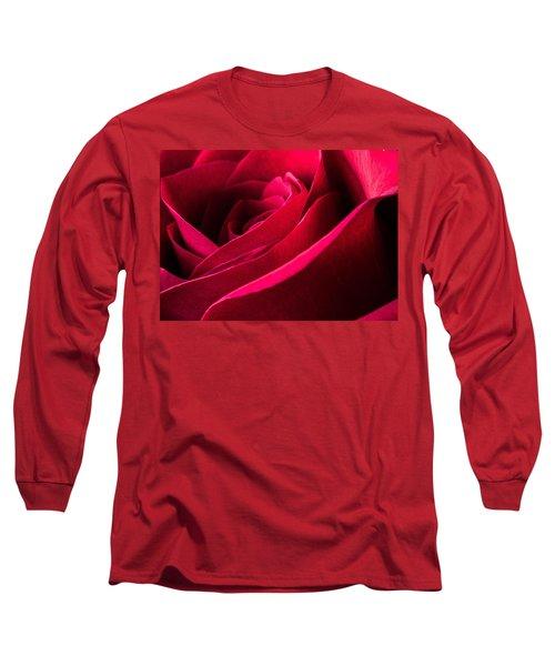 Rose Of Velvet Long Sleeve T-Shirt