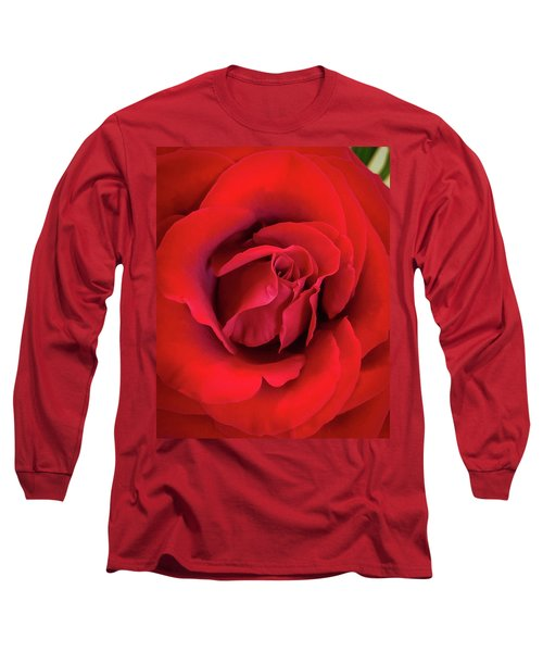 Rose Red 4 Long Sleeve T-Shirt