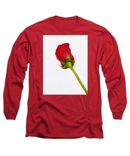 Rosebud Long Sleeve T-Shirt by Russell Keating
