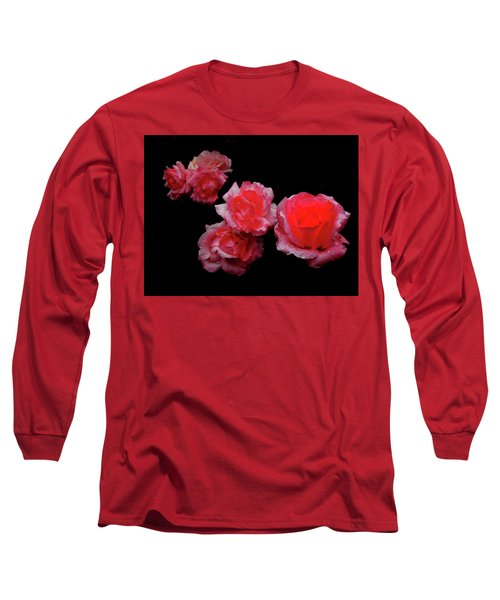 Roses And Rain Long Sleeve T-Shirt