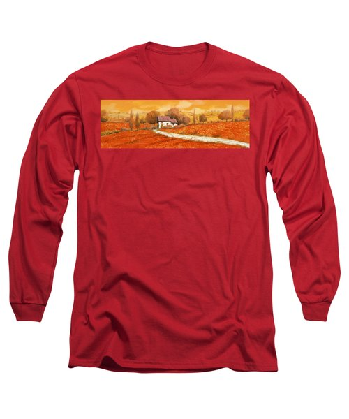 Rosso Papavero Long Sleeve T-Shirt
