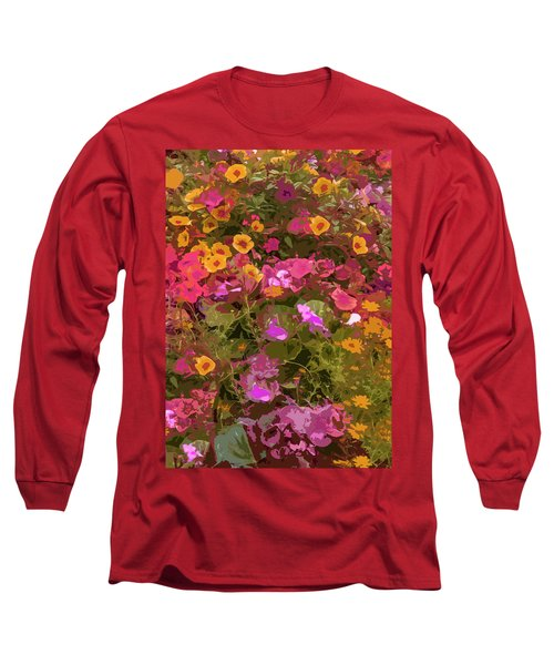 Rosy Garden Long Sleeve T-Shirt