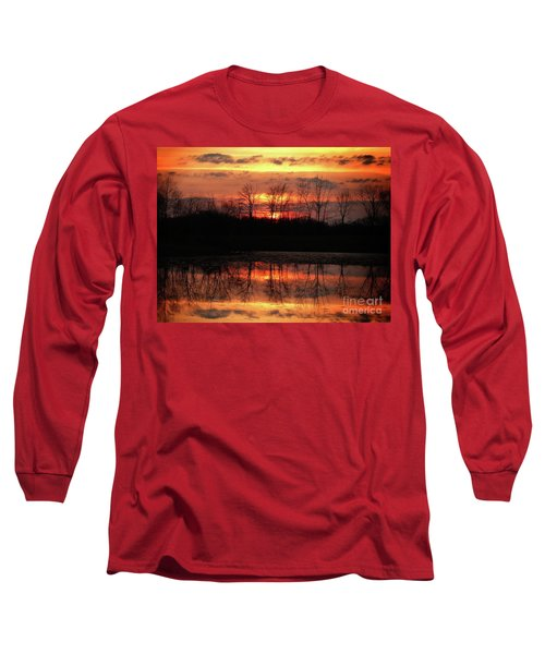 Rosy Mist Sunrise Long Sleeve T-Shirt