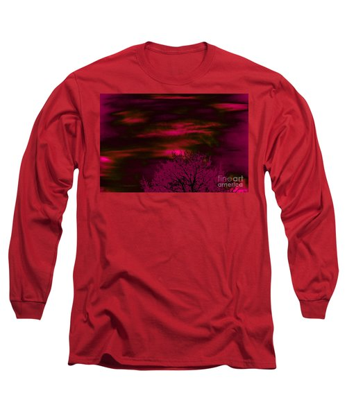 Long Sleeve T-Shirt featuring the photograph Purple Rain by Jesse Ciazza
