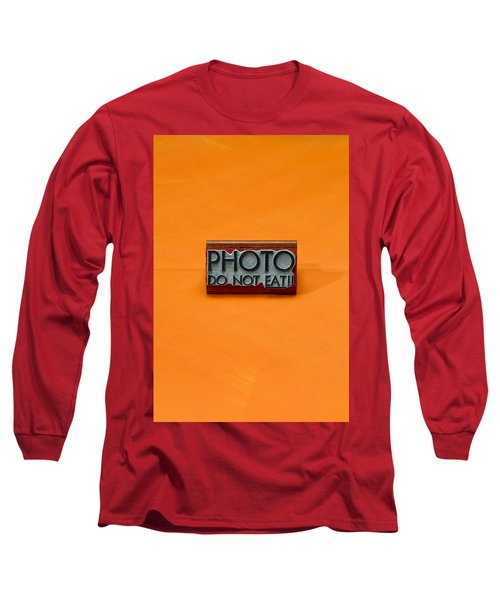 Rubber Stamp Long Sleeve T-Shirt