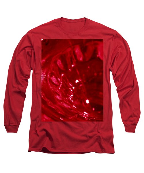 Ruby Glass Beauty Long Sleeve T-Shirt by Samantha Thome
