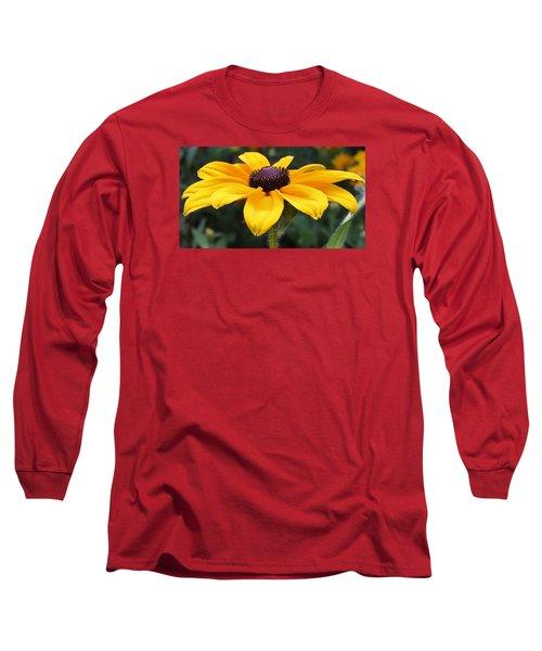 Rudbeckia Bloom Up Close Long Sleeve T-Shirt by Bruce Bley