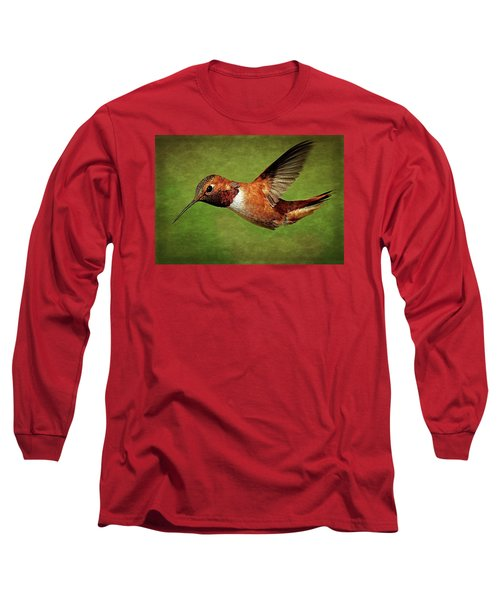 Rufous Portrait Long Sleeve T-Shirt