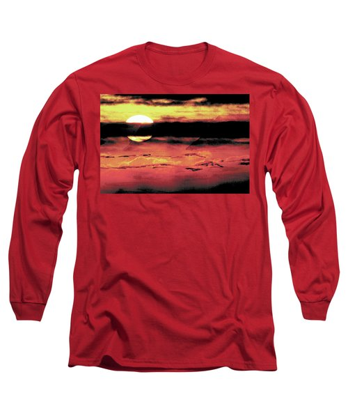 Russet Sunset Long Sleeve T-Shirt