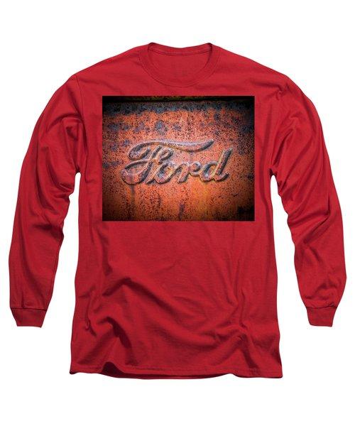 Rust Never Sleeps - Ford Long Sleeve T-Shirt