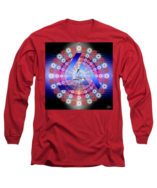 Sacred Geometry 646 Long Sleeve T-Shirt