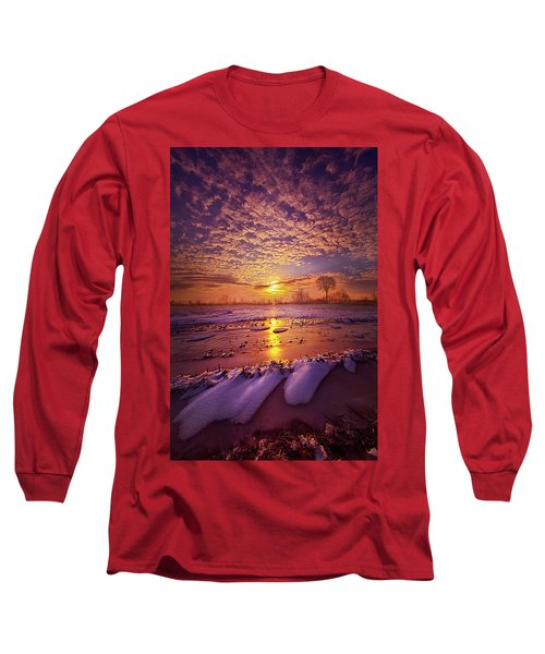 Long Sleeve T-Shirt featuring the photograph Safely Secluded In A Far Away Land by Phil Koch