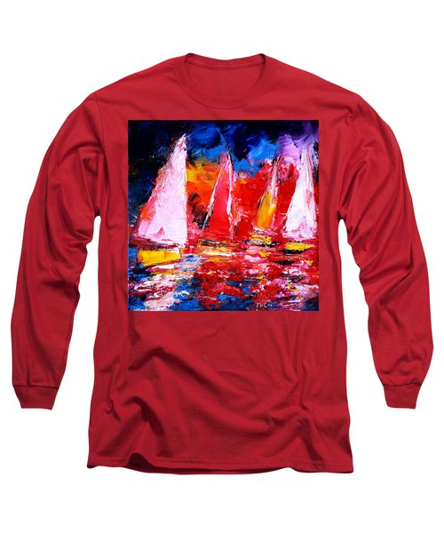 Sail To The Sunset Long Sleeve T-Shirt