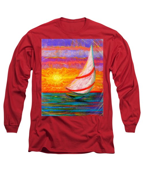 Sailaway Long Sleeve T-Shirt by Jeanette Jarmon