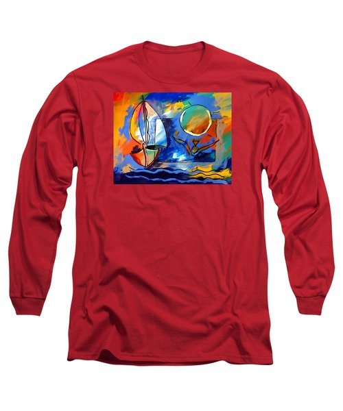 Sailboat 1 Long Sleeve T-Shirt