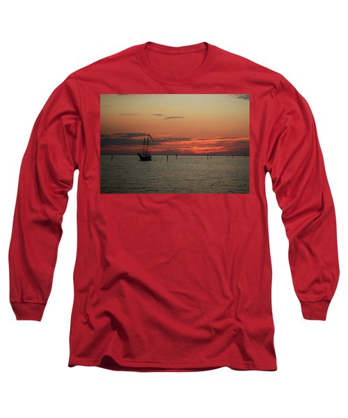 Sailing Sunset Long Sleeve T-Shirt