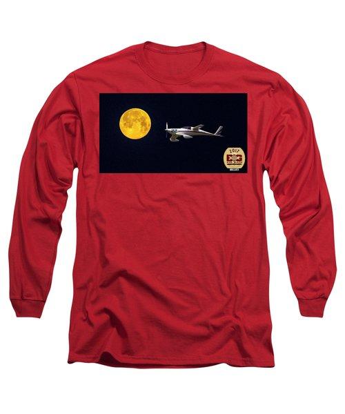 Sam And The Moon Long Sleeve T-Shirt