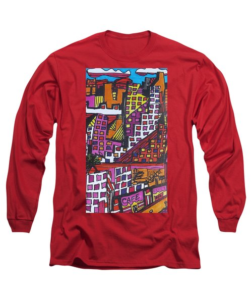 San Francisco  Long Sleeve T-Shirt by Don Koester