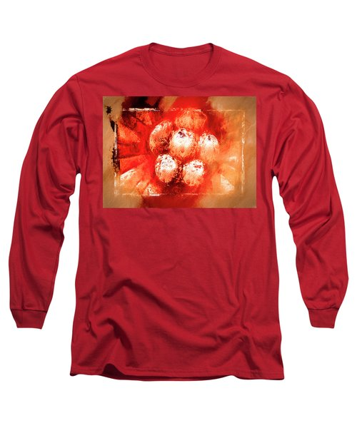 Long Sleeve T-Shirt featuring the digital art Sand Storm by Carolyn Marshall