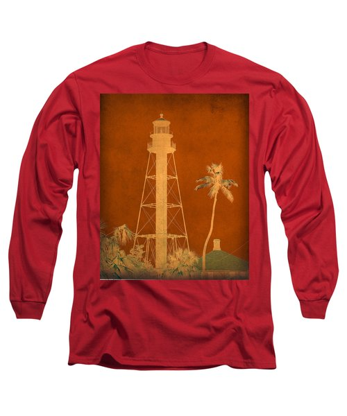 Sanibel Island Lighthouse Long Sleeve T-Shirt