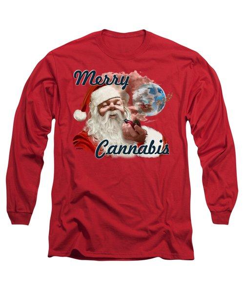 Santa's Oregon Vacation Long Sleeve T-Shirt
