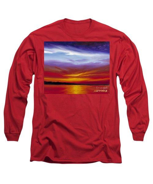 Sarasota Bay I Long Sleeve T-Shirt by James Christopher Hill