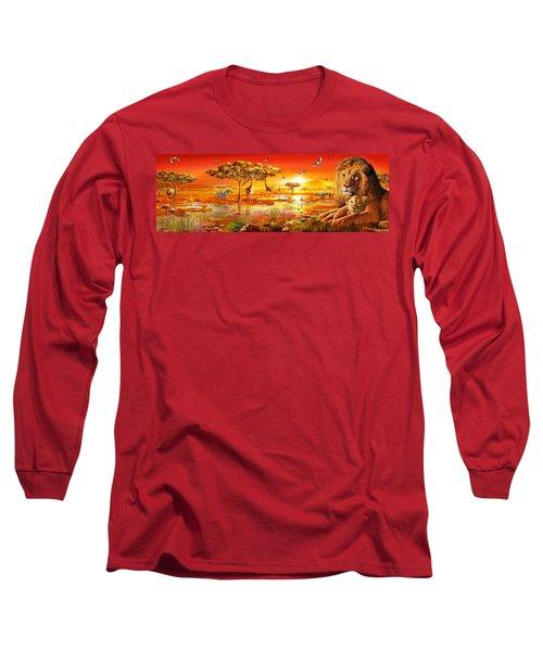 Savanna Sundown Long Sleeve T-Shirt