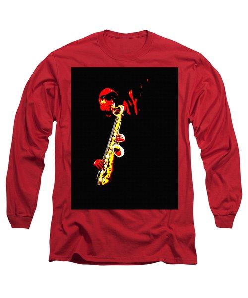 Sax Tribute Long Sleeve T-Shirt