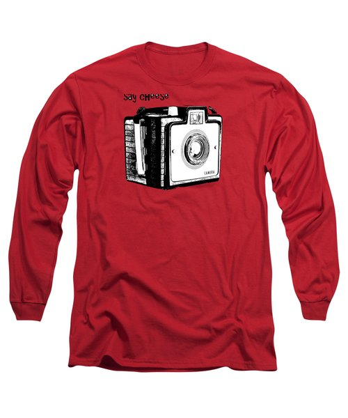 Say Cheese Old Camera T-shirt Long Sleeve T-Shirt
